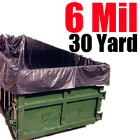 6ML 30 Yard Dumpster Liner