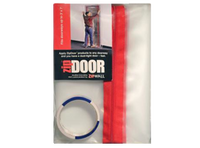 Zipwall ZipDoor Standard Doorway Dust Barrier ZDS