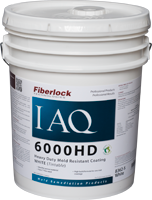 Fiberlock IAQ 6000 HD - Heavy Duty Mold Resistant Coating - 5 Gallon