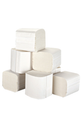 Buy Multi Flat Folded Toilet Tissue, White, 250 Sheets, 36 packs (PTP250) sold by eSuppliesMedical.co.uk