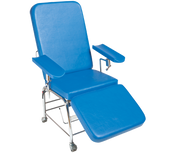 Buy Reclining Phlebotomy Chair Non-Height Adjustable, With Wheels (103BW) sold by eSuppliesMedical.co.uk