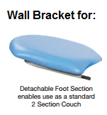 Fusion GYNAE Wall Bracket for Foot Section Storage (SUN-FGYN/WB)