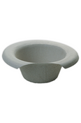 Buy Pulp Commode Pan Liner/General Use Bowl,  1700ml, Pack of 200 (PHCOM030) sold by eSuppliesMedical.co.uk