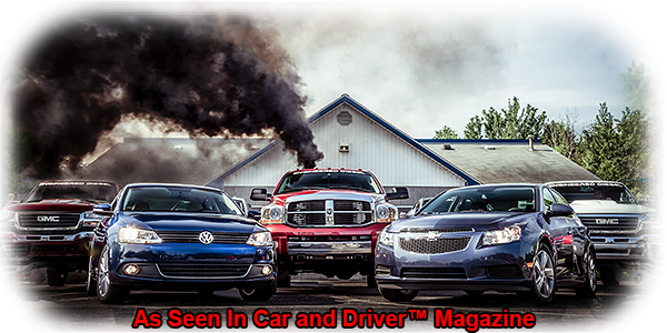 Engineered Diesel in Car and Driver™ Magazine Photo