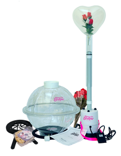 The ST-1 Core Keepsake Stuffer kit comes with all the equipment you need to for the Balloon Stuffing business Keepsake Stuffer Balloon Stuffing machine a classy way to wrap your gift in a balloon