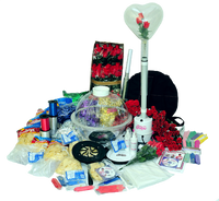 The ST-10 Elite Kit Comes with all the equipment and supplies you need in starting a gift in a balloon business. This balloon machine stuffer kit is the largest one that can ship US Priority Mai.