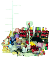 The ST-20 Keepsake Stuffer kit is the most complete of the starter kits and comes with everything the Professional needs to be in the Balloon Stuffing business