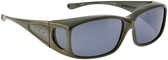 Jonathan Paul® Fitovers Eyewear Small Razor in Gun-Metal & Gray RZ005