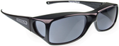 Jonathan Paul® Fitovers Eyewear Large Aria in Midnite-Oil & Gray AA001