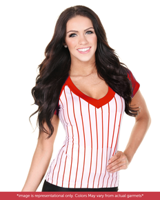 Baseball Sporty Jersey Top