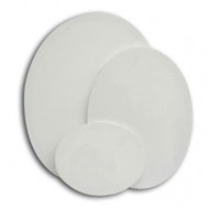 Oval Canvas Panel 13cm x 18 cm, Pack of 6