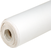 Fine Detail Cotton Canvas Roll 1.60 m x 10m - (330gsm) Acrylic Primed