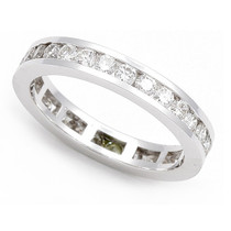 Channel set Diamond Eternity Wedding Ring (1 1/6 ct.)