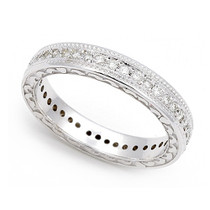 Pav' set Diamond Eternity Wedding Ring (2/5 ct.)