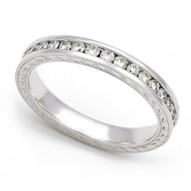 Channel set Diamond Eternity Wedding Ring (3/5 ct.)