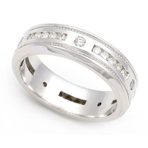 Channel set Diamond Eternity Wedding Ring (1/2 ct.)