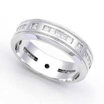 Channel set Diamond Eternity Wedding Ring (4/5 ct.)