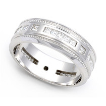 Channel set Diamond Eternity Wedding Ring (1 ct.)