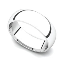 Classic Wedding Ring 6mm