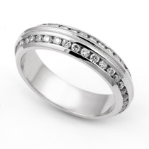Channel set Diamond Eternity Wedding Ring (1 1/7 ct.)