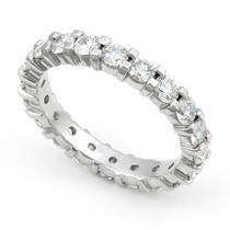 Shared Prong set Diamond Eternity Ring (2 ct.)