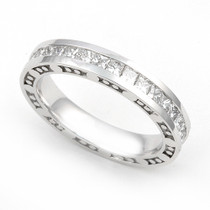 Channel set Diamond Bubble Edge Eternity Ring (2 1/4 ct.)