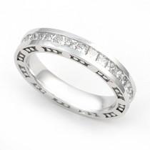 Channel set Diamond Bubble Edge Eternity Ring (2 1/4 ct.)