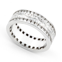 Channel set Diamond Eternity Ring (1 1/5 ct.)