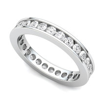 Channel Set Diamond Eternity Ring (1 ct.)