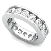 Channel Set Diamond Eternity Ring (3 ct.)
