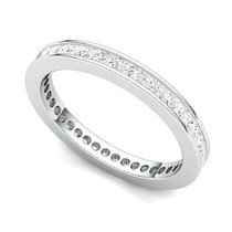 Channel Set Princess Diamond Eternity Ring (1 ct.)