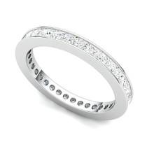 Channel Set Princess Diamond Eternity Ring (1 1/2 ct.)