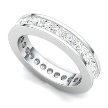 Channel Set Princess Diamond Eternity Ring (3 ct.)