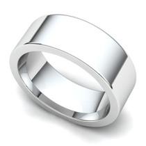 Flat Wedding Ring 7mm