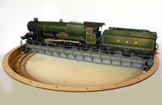 7mm/ft O scale 65ft turntable kit