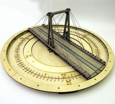 65ft motorised gallows turntable