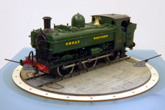 7mm O scale motorised 30ft turntable kit