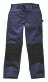 Dickies Duo Tone Grafters Trousers - Navy/Black