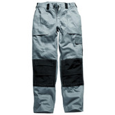 Dickies Duo Tone Grafters Trousers - Grey/Black