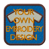 Embroidery 'Your logo/design'