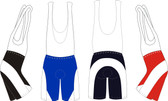 Men's Cycling Bib Shorts - Custom Made With Your Design