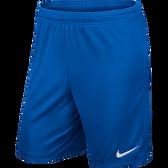 Nike Park II Knit Short - CHILD Royal Blue/White