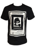 Isle of Wight Festival of Music 1969 T-Shirt - Adult 'Black'