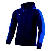 CLEARANCE -  Nike Team Fleece Hoody KIDS - Obsidian/Royal Blue/White