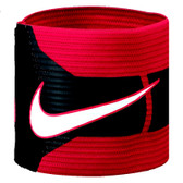 Nike T90 Captains Armband - White/Red/Black