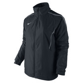 CLEARANCE -  Nike WOMENS Woven Warm-Up Jacket SIZE M (10/12) - Black/Lt Graphite/White