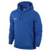Nike Team Club Hoody - ADULT - Royal Blue/White