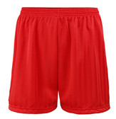 "Shadow Stripe PE Shorts - Red 30-42"""