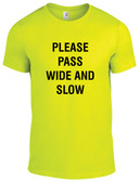 "Equestrian ""Please Pass Wide and Slow"" T-Shirt"