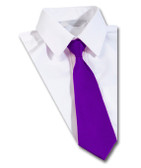 Purple School Tie
